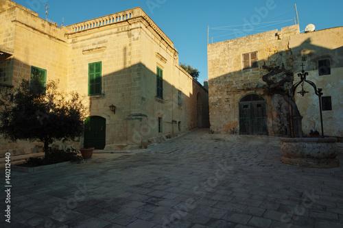 Photo  Mesquita Square, Mdina, Malta