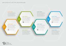 Timeline Chart #Vector Graphics