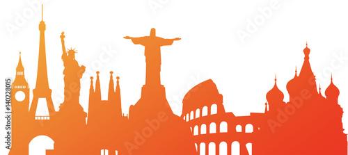 Fotografia  turismo, mondo, monumenti, viaggi, vacanze