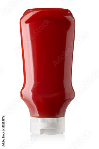 Fotografía Bottle of Ketchup isolated