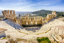 Ruins Of Ancient Theater Of He...