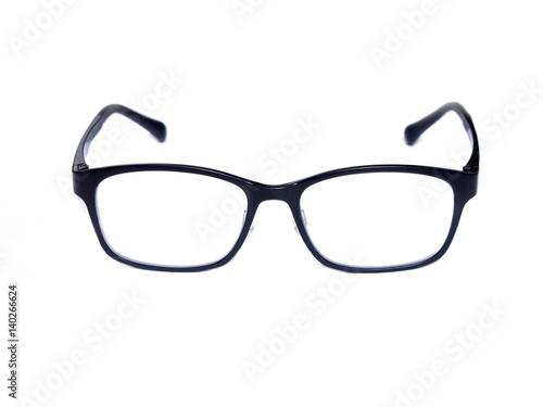 Black Square Eye Glasses Isolated On White Background Buy