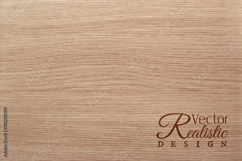 Obraz Vector white oak texture background. Realistic design - fototapety do salonu