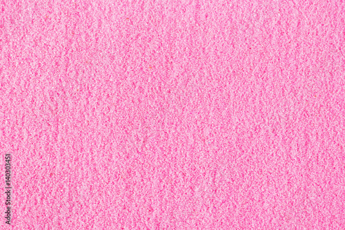 Beautiful Pink Decorative Sand Tered On The Table
