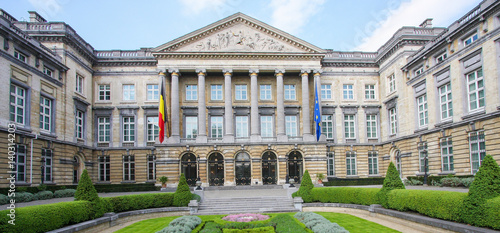 Belgian Parliament in Brussels