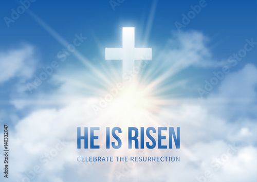 Fotografía He is risen