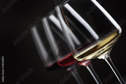Fotografie, Obraz Three glass of wine