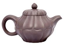 Chocolate Brown Teapot. Isolat...