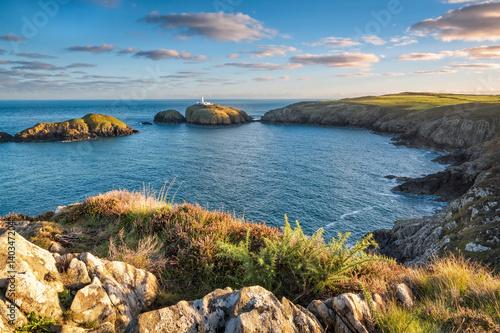 Foto auf Leinwand Kuste Strumble Head Lighthouse