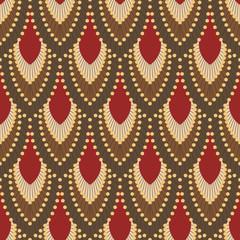 FototapetaSeamless pattern in Art Deco style 5