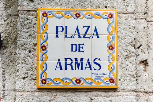 Plaza de Armas - Havana, Cuba Canvas Print