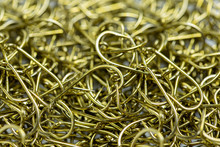 A Large Number Of Fish Hooks O...