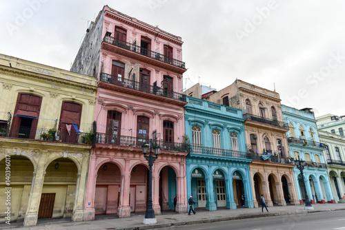 Poster de jardin Havana Paseo del Prado, Havana