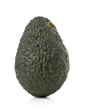 Uncut, Whole, Ripe Avocado Fruit
