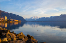 A Waterscape Of Lac Leman, The...