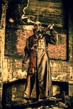 Homme Steampunk Monte La Garde