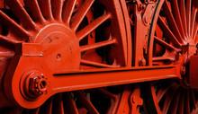Fahrwerk Dampflokomotive