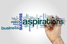 Aspirations Word Cloud