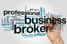 Business Broker Word Cloud
