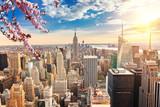 Fototapeta Nowy Jork - New York City Manhattan at sunset