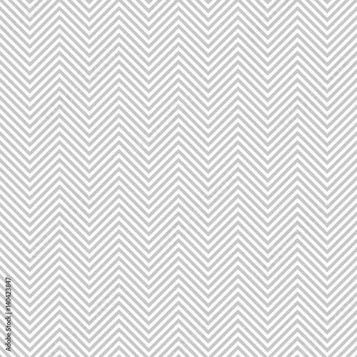 Cuadros en Lienzo Pattern stripe seamless gray and white colors