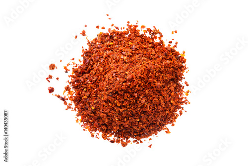 Foto Pile of Aleppo Flakes red pepper