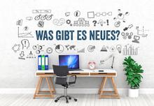 Was Gibt Es Neues? / Office / Wall / Symbol