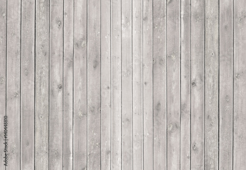 Fotografija Vintage whitewash painted rustic old wooden shabby plank wall  textured background