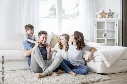 Obraz na plátně  Familie lifestyle