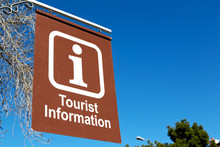 In South Africa Close Up Of The Tourist Information