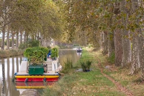 Foto op Plexiglas Kanaal canal du Midi, France