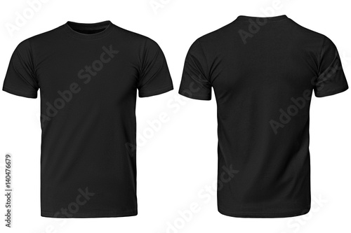 Cuadros en Lienzo  Black t-shirt, clothes