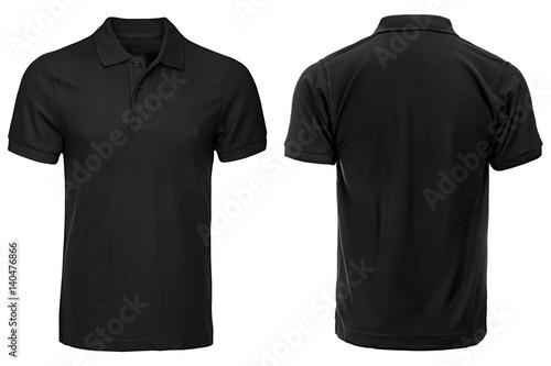 Black Polo shirt, clothes
