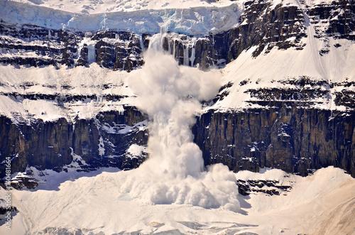 Fotografia Columbia Ice fields, Jasper National Park