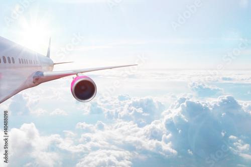 Fotografie, Obraz  Airplane up in the sky