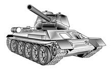 Medium Tank T-34 Of The World ...
