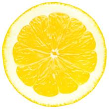 Juicy Yellow Slice Of Lemon, W...