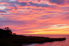 Pamlico Sound Sunset Hatteras ...