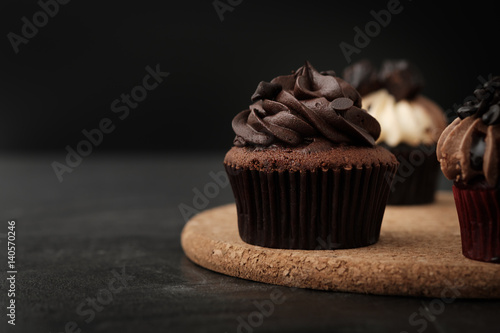 Cadres-photo bureau Dessert cupcake