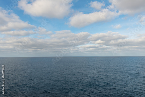 Photo  Clouds over the Pacific