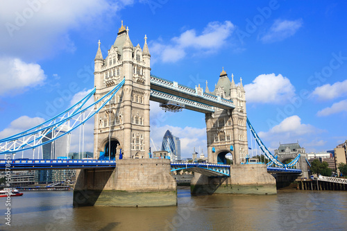 Foto-Kassettenrollo premium - Tower Bridge in London