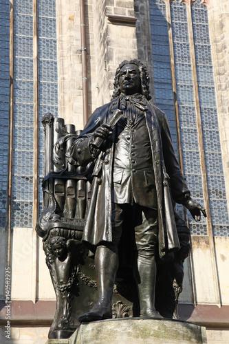 Papiers peints Artistique Bach Monument Leipzig Germany