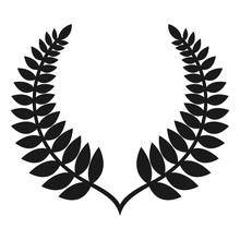 New Zealand Fern Logo Vector.