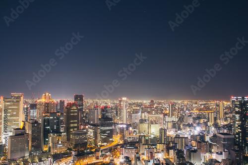 Poster Turquie Osaka night view in Japan