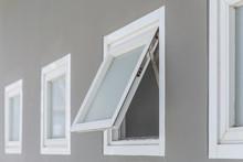 Awning Window Open, Modern Hom...