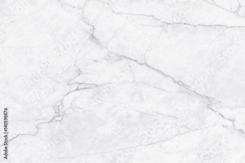 Staande foto Stenen White marble texture with natural pattern for background or design art work.