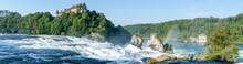 The Rhine Waterfalls At Neuhausen