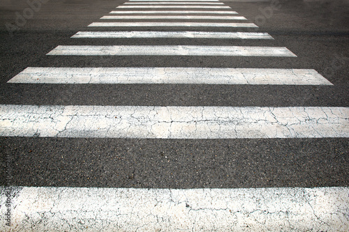 Obraz na plátně  Pedestrian crossing