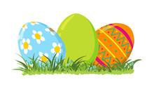 Easter Eggs, Vector