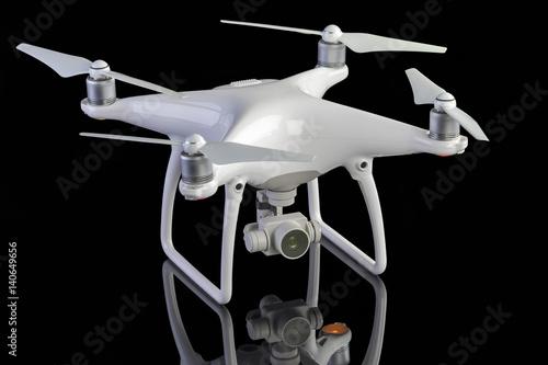 Cuadros en Lienzo Studio photo of a drone aircraft
